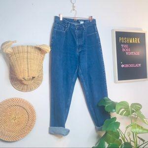vtg vsco Eddie Bauer high waisted mom jeans